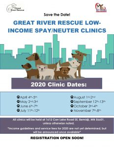 Great River Rescue (Pet Fixers) Low Cost Spay Neuter Clinics